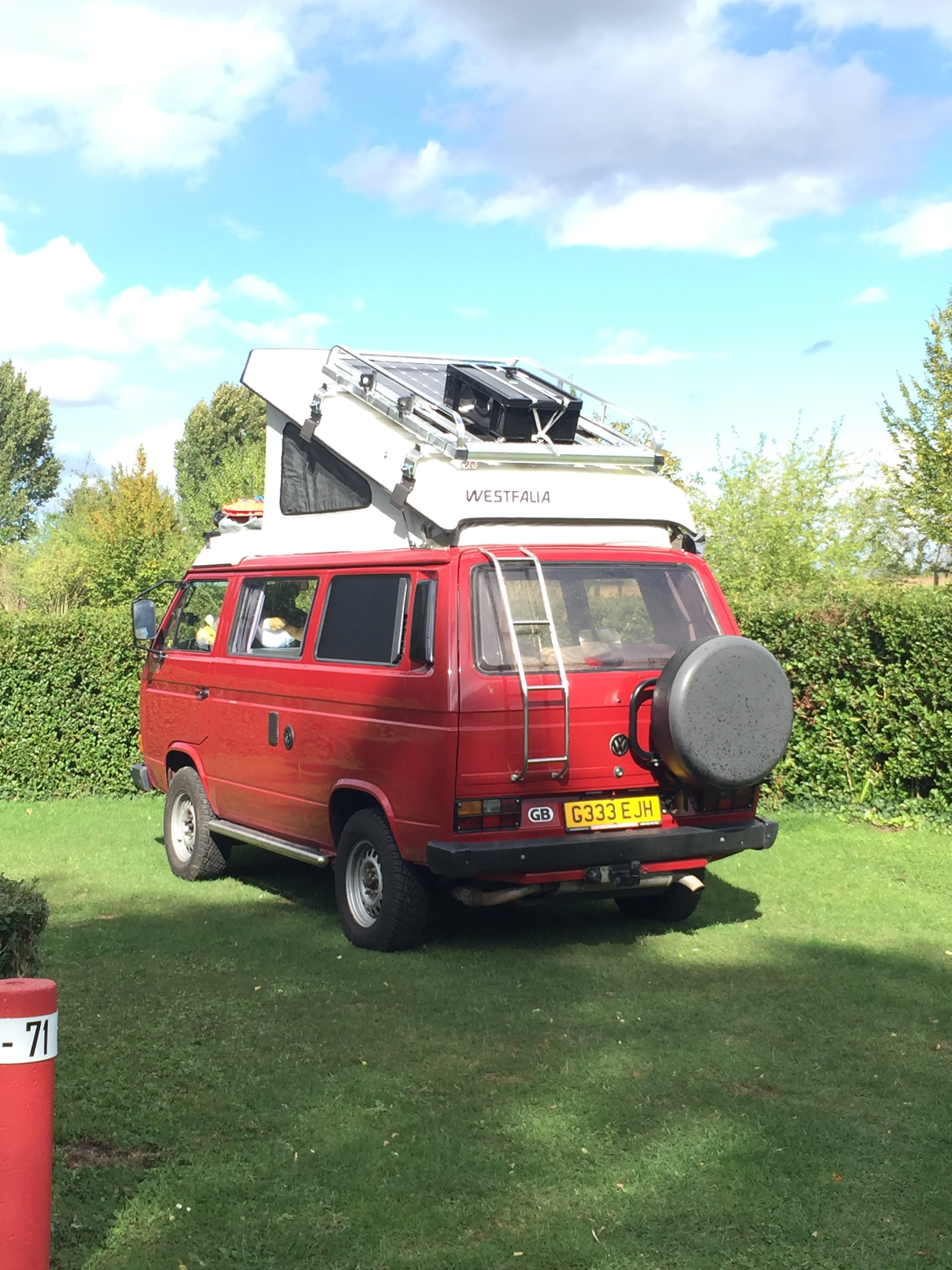Diy Expedition Roof Rack System The Little Red Bus
