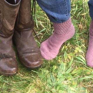 But warm, dry feet!!